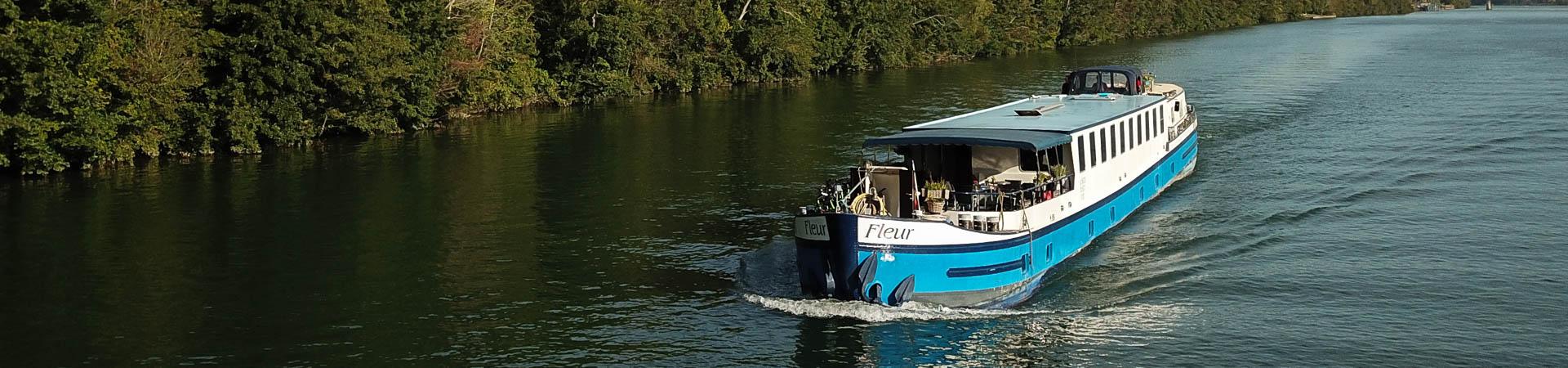 Barge Fleur Seine
