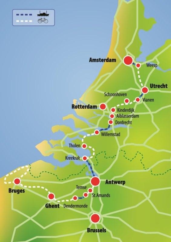 Amsterdam Brugge