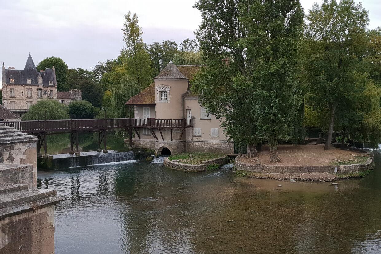 Barge Fleur Parijs Montargis Moret Sur Loing