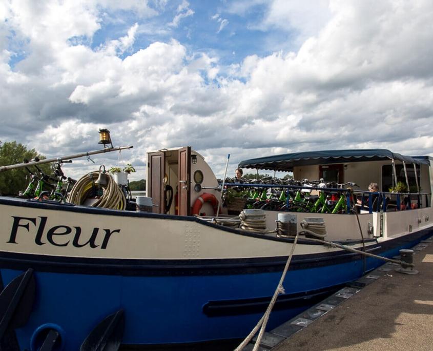 Barge Fleur Tulpentoer