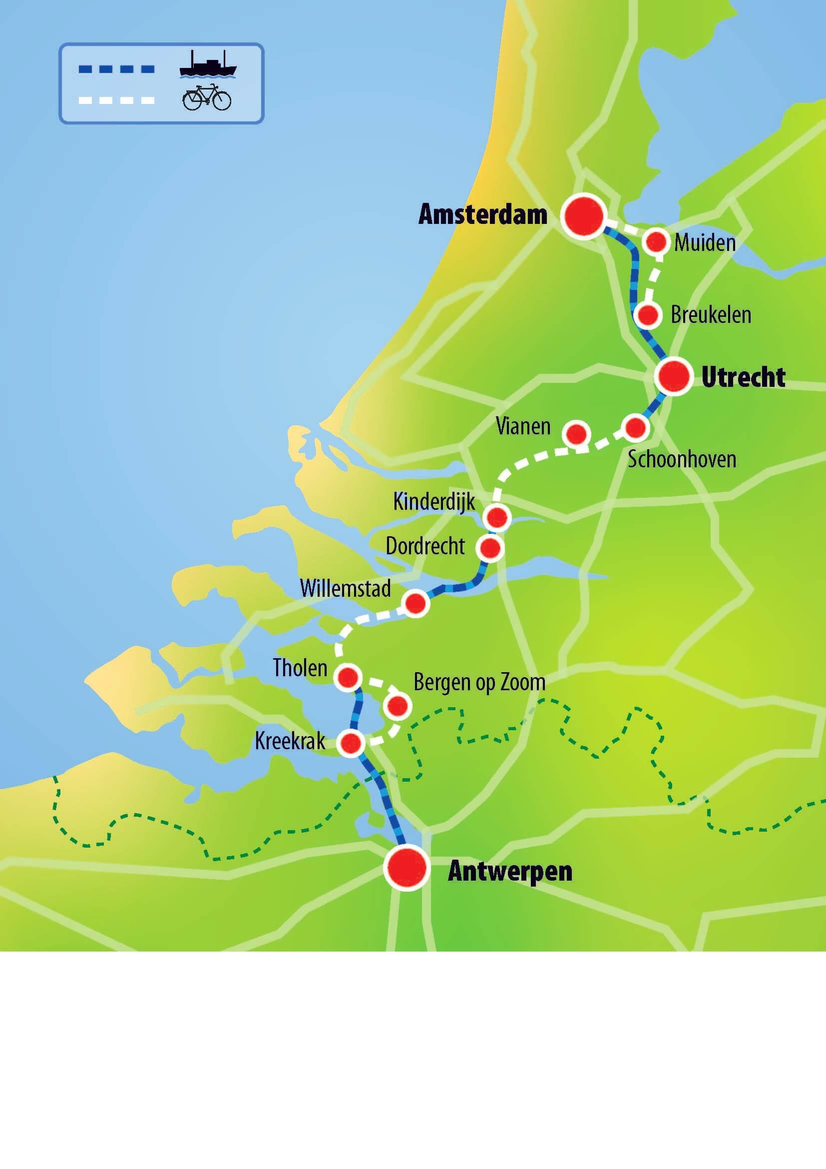 Amsterdam Antwerpen